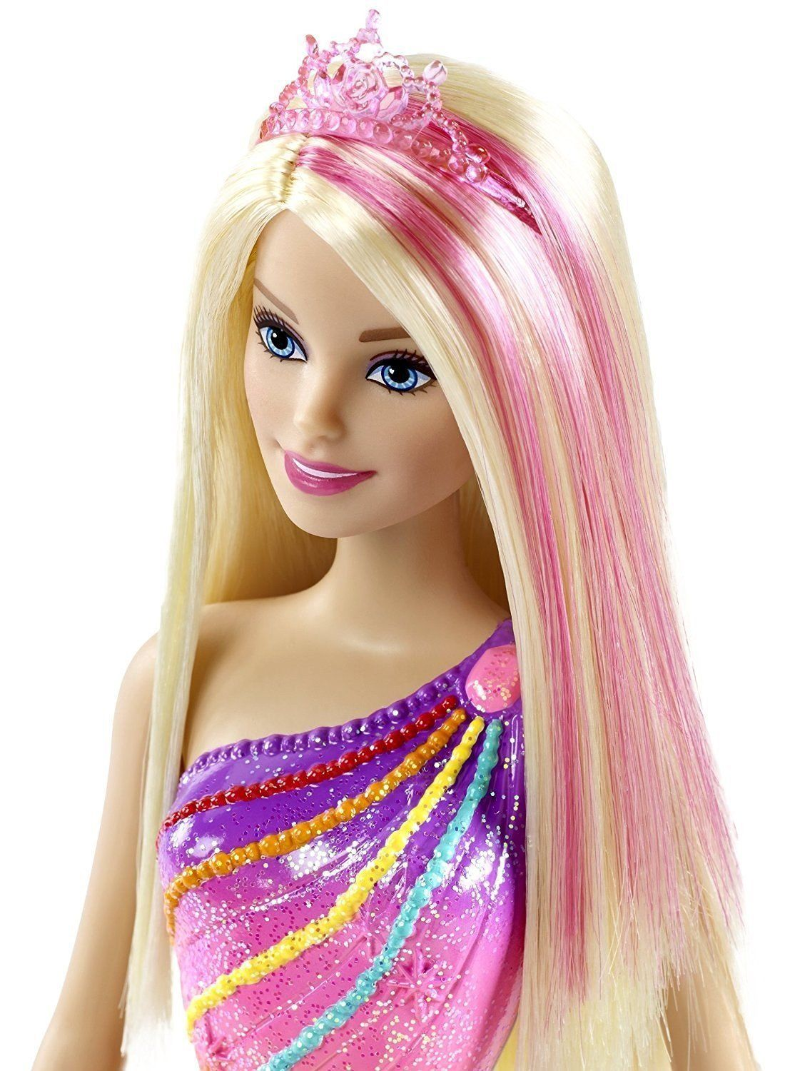 Barbie Dreamtopia Rainbow Cove Princess Doll Horse & Carriage